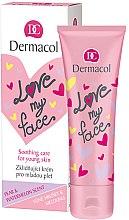 Kup Kojąca emulsja do twarzy o zapachu gruszki i arbuza - Dermacol Love My Face Pear & Watermelon Scent Face Cream