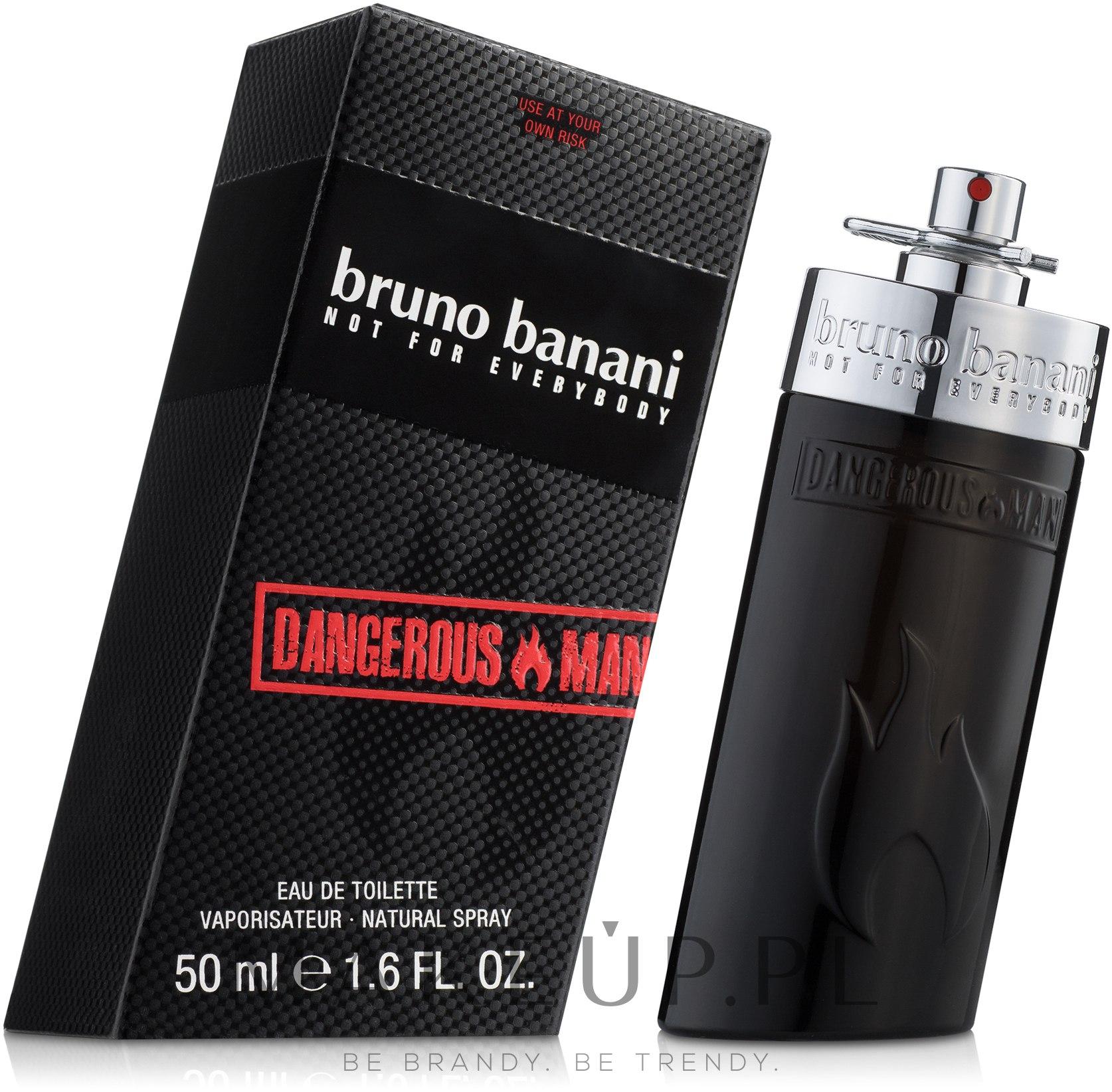 Bruno Banani Dangerous Man - Woda toaletowa — фото 50 ml