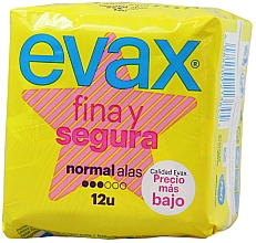 Kup Podpaski Normal, ze skrzydełkami, 12 szt. - Evax Fina & Segura