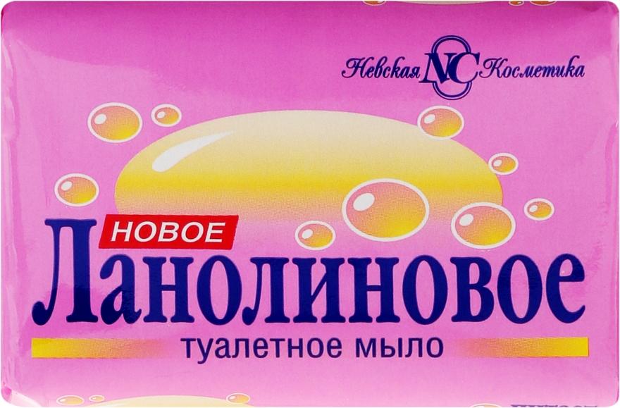 Lanolinowe mydło toaletowe do twarzy i ciała - Newska Kosmetyka — фото N1