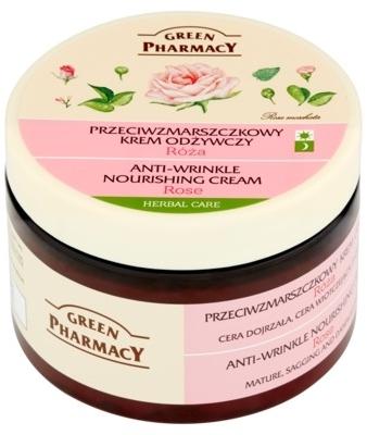 Różany przeciwzmarszczkowy krem odżywczy - Green Pharmacy Anti-Wrinkle Vanishing Cream