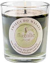 Kup Świeca do masażu Rewitalizująca zieleń - Flagolie Green Regeneration Massage Candle (mini)