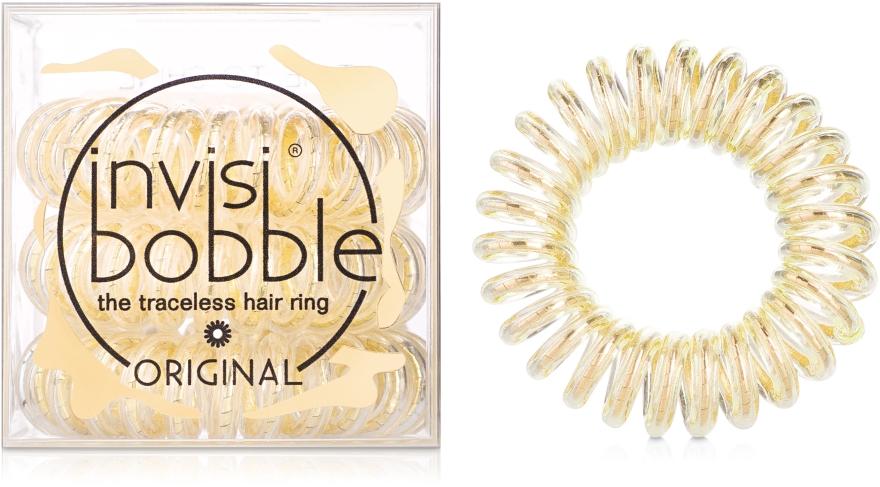 Gumka do włosów - Invisibobble Original You`re Golden — фото N1