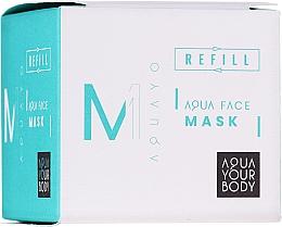 Kup Nawilżająca maska do twarzy - AQUAYO Aqua Face Mask (wymienny wkład)
