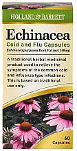 Kup PRZECENA! Ekstrakt z jeżówki w kapsułkach - Holland & Barrett Echinacea Cold & Flu 140mg *