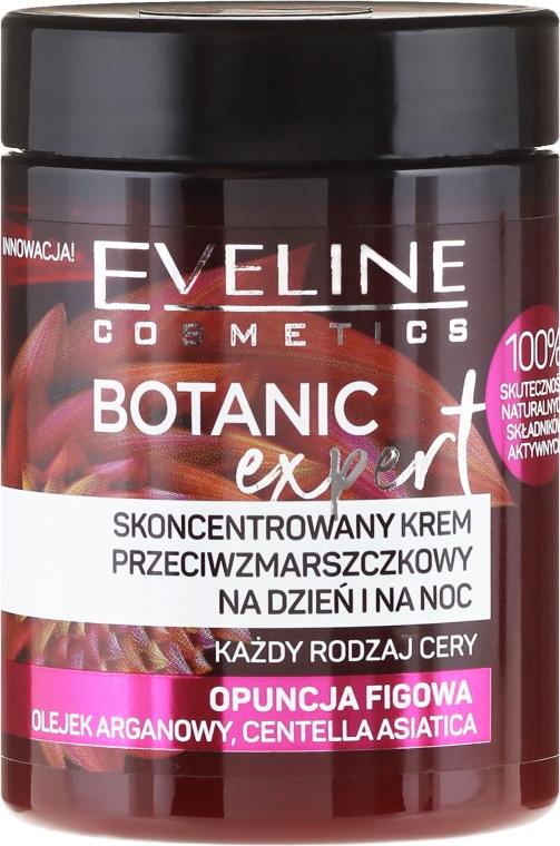Skoncentrowany krem przeciwzmarszczkowy do twarzy na dzień i na noc Opuncja figowa - Eveline Cosmetics Botanic Expert