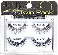 Kup Sztuczne rzęsy, 2 pary - Ardell Twin Pack Wispies Black