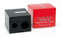 Kup Podwójna temperówka, czarna - Pupa Double Pencil Sharpener