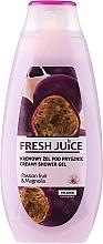 Kup Kremowy żel pod prysznic Marakuja i magnolia - Fresh Juice Creamy Shower Gel Passion Fruit & Magnolia