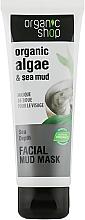 Kup Błotna maska do twarzy Algi i błoto z Morza Martwego - Organic Shop Mud Mask Face