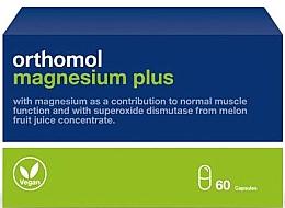Kup Witaminy z ekstraktu z melona i magnezem w kapsułkach - Orthomol Magnesium Plus