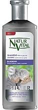 Kup Srebrny szampon do włosów jasnych i siwych - Natur Vital Silver Shampoo