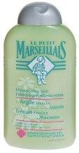 Kup Szampon do włosów przetłuszczających się Biała glinka i jaśmin - Le Petit Marseillais