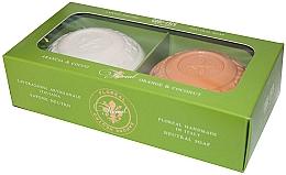Kup Zestaw mydeł Pomarańcza i kokos - Gori 1919 Floreal Orange & Coconut (soap/2 x 150 g)