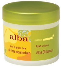 Kup Delikatny krem nawilżający Aloes i zielona herbata - Alba Botanica Natural Hawaiian Oil Free Moisturizer Refining Aloe & Green Tea