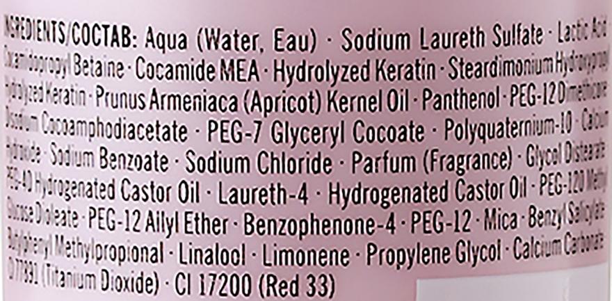Micelarny szampon do włosów farbowanych - Schwarzkopf Professional Bonacure Color Freeze Rich Micellar Shampoo — фото N7