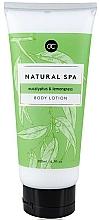 Kup Mleczko do ciała - Accentra Natural Spa Eucalyptus & Lemongrass Body Lotion
