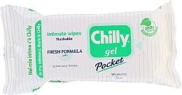 Kup Odświeżające chusteczki do higieny intymnej - Chilly Gel Fresh Intimate Wipes