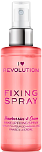 Kup Utrwalacz makijażu w sprayu - I Heart Revolution Fixing Spray Strawberries & Cream