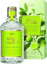 Kup Maurer & Wirtz 4711 Aqua Colognia Lime & Nutmeg - Woda kolońska