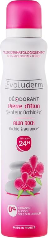 Dezodorant w sprayu Orchidea - Evoluderm Alun Rock Orchid Fragrance Deodorant — фото N1