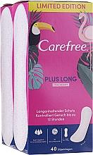 Kup Wkładki higieniczne 2x40 szt - Carefree Plus Long