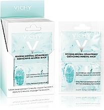 Nawilżająca maska mineralna - Vichy Quenching Mineral Face Mask Review — фото N3