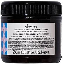 Kup Odżywka do kreatywnej koloryzacji (niebieski) - Davines Alchemic Creative Conditioner Marine Blue