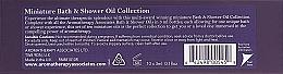 Zestaw - Aromatherapy Associates Miniature Bath & Shower Oil Collection (sh/bath/oil/10x3ml) — фото N2