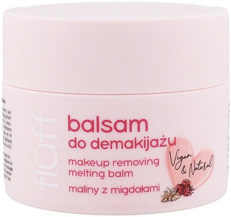 Balsam do demakijażu Maliny z migdałami - Fluff Makeup Removing Melting Balm
