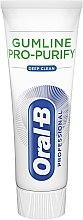Pasta do zębów - Oral-B Professional Gumline Pro-Purify Deep Clean Toothpaste — фото N3