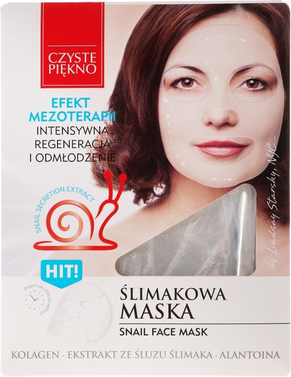 Ślimakowa maska w płacie Efekt mezoterapii - Czyste Piękno