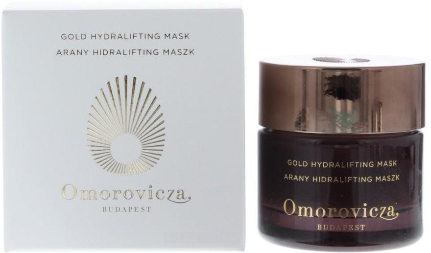 Złota hydroliftingująca maska do twarzy - Omorovicza Gold Hydralifting Mask — фото N1