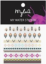 Kup Naklejki na paznokcie w azteckie wzory - MylaQ My Aztek Sticker