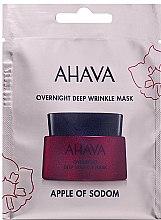Kup Maska przeciw głębokim zmarszczkom na noc - Ahava Apple of Sodom Overnight Deep Wrinkle Mask (miniprodukt)