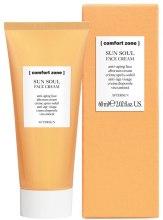 Kup Przeciwstarzeniowy krem do twarzy po opalaniu - Comfort Zone Sun Soul Face Cream Aftersun