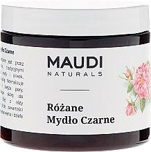 Kup Różane mydło czarne - Maudi