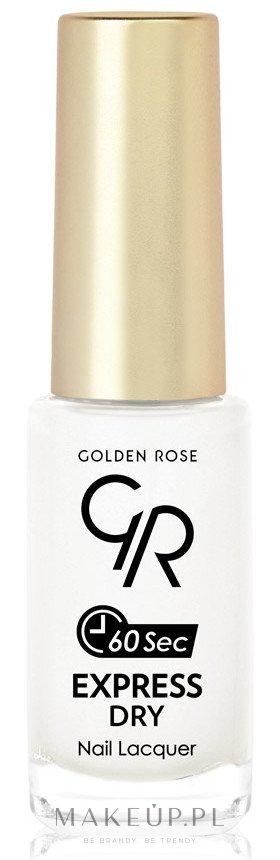 Szybkoschnący lakier do paznokci - Golden Rose Express Dry 60 Sec — фото 02