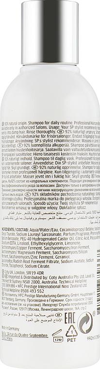 Odżywczy szampon do włosów bez obciążania - Wella SP Essential Nourishing Shampoo — фото N2