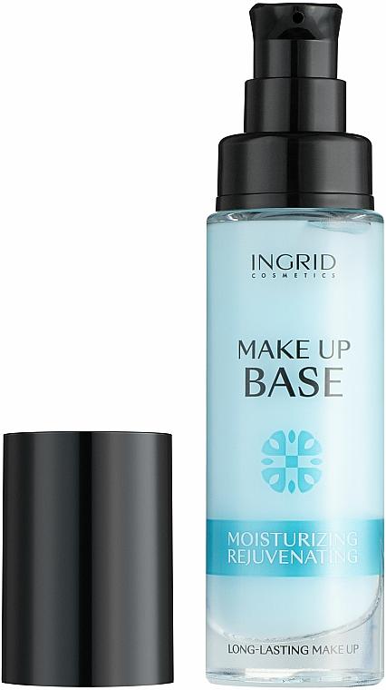 Długotrwale nawilżająca baza odmładzająca pod makijaż - Ingrid Cosmetics Make-up Base Long-Lasting Moisturizing & Rejuvenating