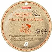 Kup Maska do twarzy w płachcie z witaminami - Purederm Vegan Sheet Mask Vitamin