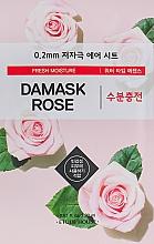 Kup Nawilżająca maseczka w płachcie do twarzy z różą damasceńską - Etude House Therapy Air Mask Damask Rose