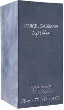 Kup Dolce & Gabbana Light Blue Pour Homme - Perfumowany dezodorant w sztyfcie dla mężczyzn