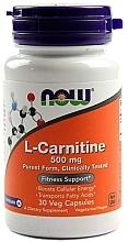 Kup Kapsułki wegetariańskie na szczupłą sylwetką L-karnityna - Now Foods L-Carnitine