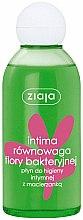 Kup Płyn z macierzanką do higieny intymnej Równowaga flory bakteryjnej - Ziaja Intima