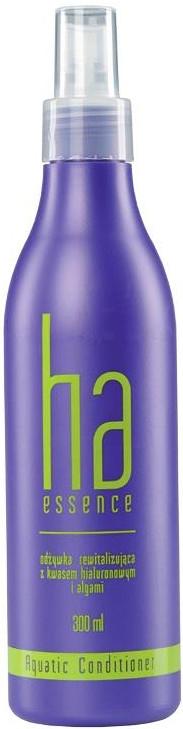 Rewitalizująca odżywka w sprayu do włosów z kwasem hialuronowym i algami - Stapiz Ha Essence Aquatic — фото N1