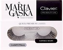 Kup Sztuczne rzęsy - Clavier Quick Premium Lashes GentleWOWman 803