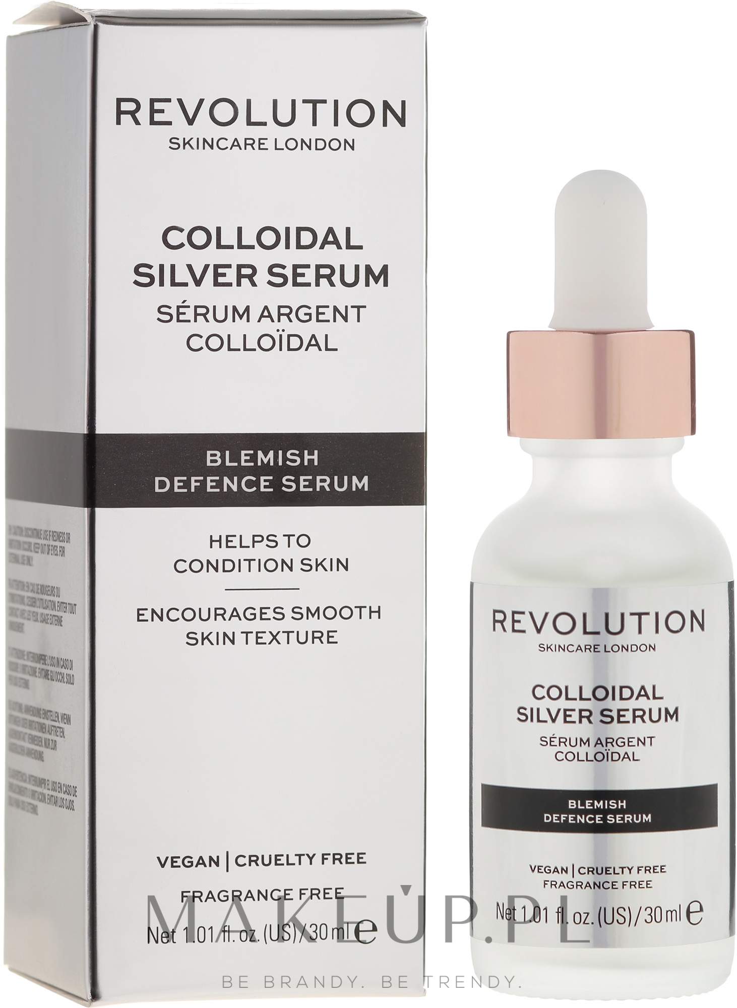 Serum do twarzy ze srebrem koloidalnym - Revolution Skincare Colloidal Silver Serum — фото 30 ml