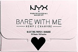 Kup Bibułki matujące do twarzy - NYX Professional Makeup Bare With Me Mattifying Oil Control Paper