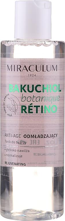 Odmładzający tonik do twarzy - Miraculum Bakuchiol Botanique Retino Tonic